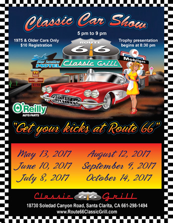 Route Classic Grill Canyon Country California Car Shows
